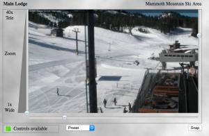 Mammoth Mountain Main Lodge Camera