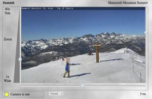 Mammoth Mountain Summit WebCam