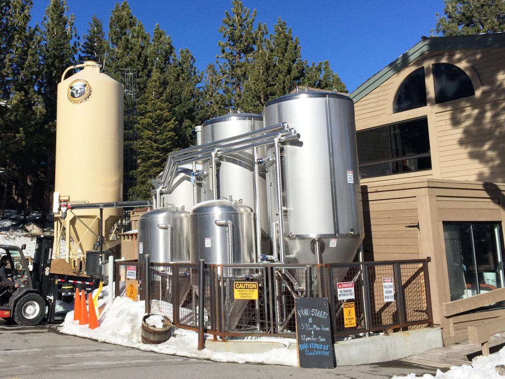 Mammoth Brewing Company Patio